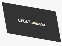 10 cool examples of css3 transition & transform hover effects.